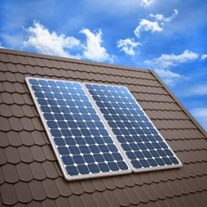 الألواح الشمسية الأحادية