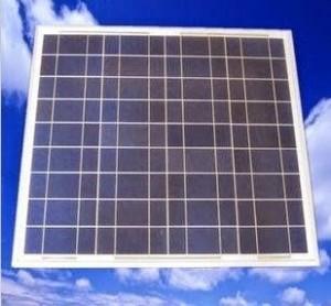 الألواح الشمسية متعددة الكريستالات