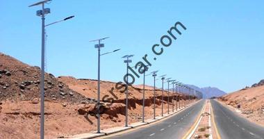أنارة شمسية في مصر