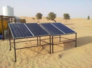 معدلات ضخ الطلمبات الشمسية