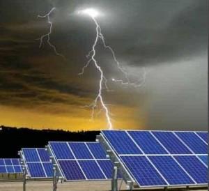 تأريض الأنظمة الشمسية