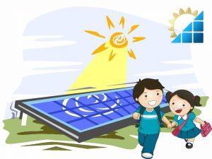 دورة الطاقة الشمسية للبراعم